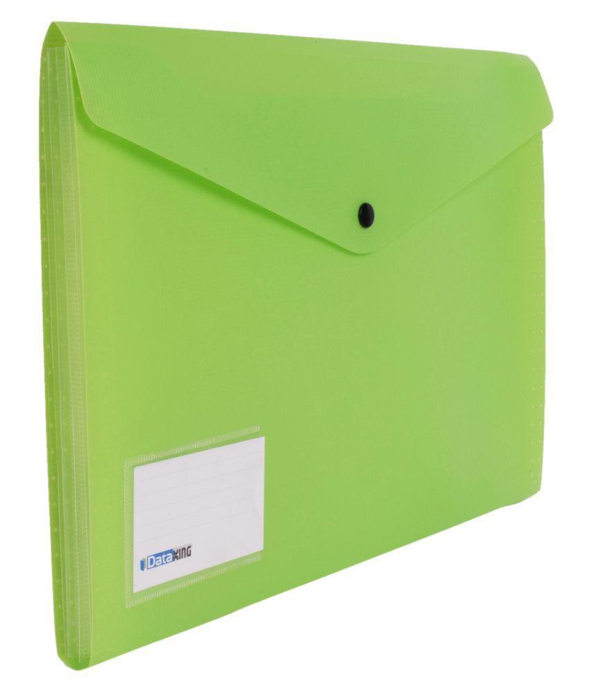Dataking Green Expanding Files  - Set of 4