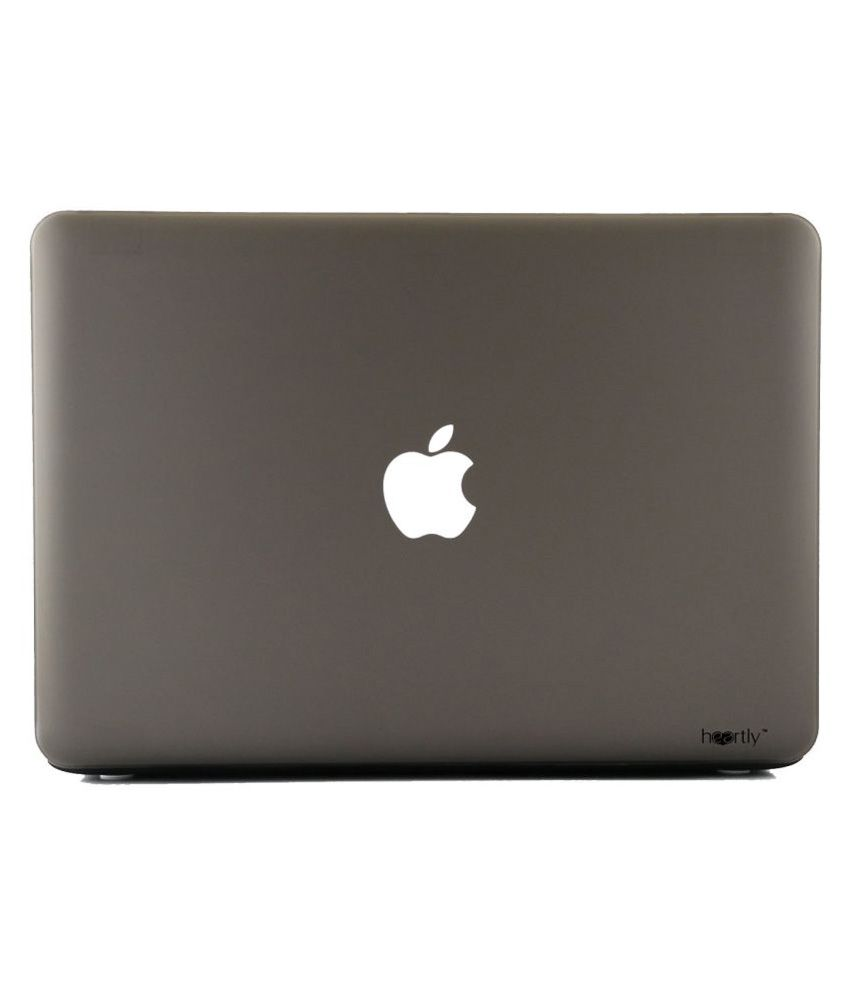 Heartly Grey Laptop Cases