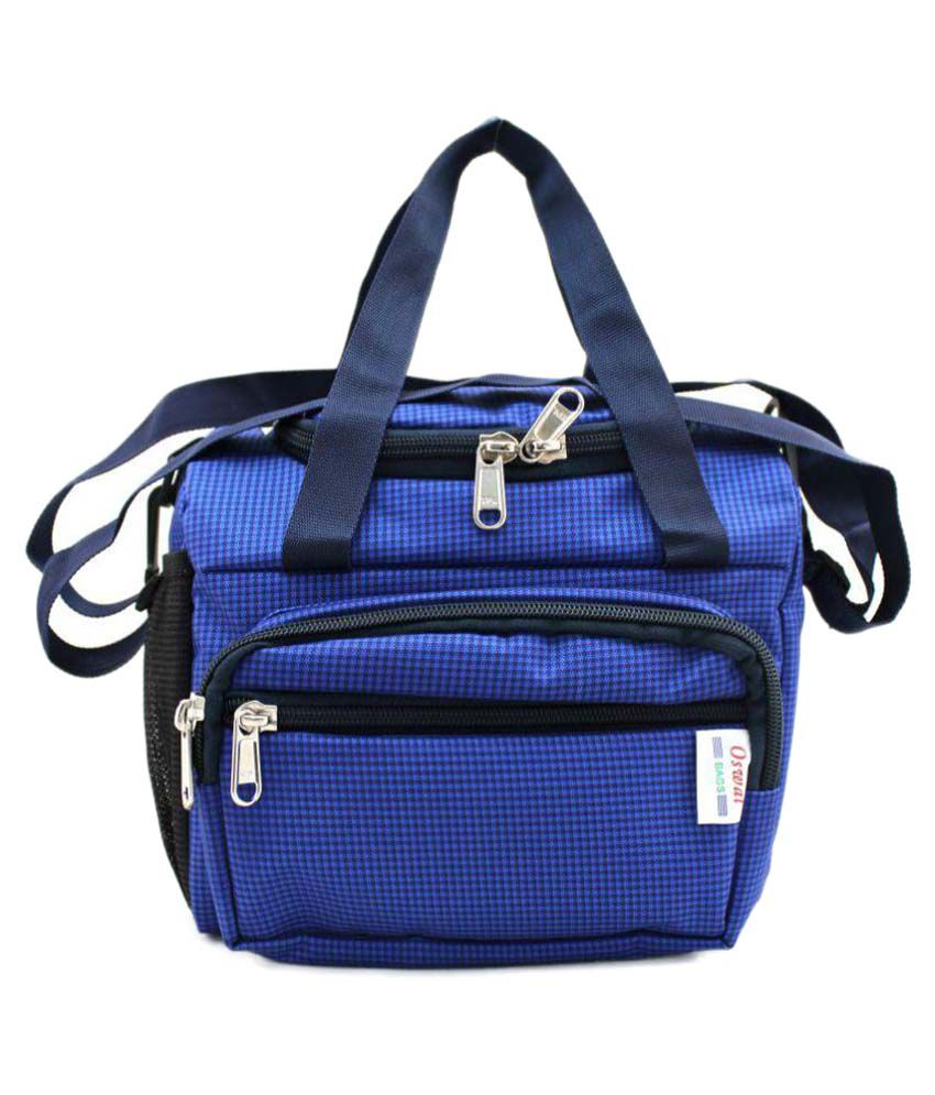 Oswal Blue Lunch Bags - 1 Pc