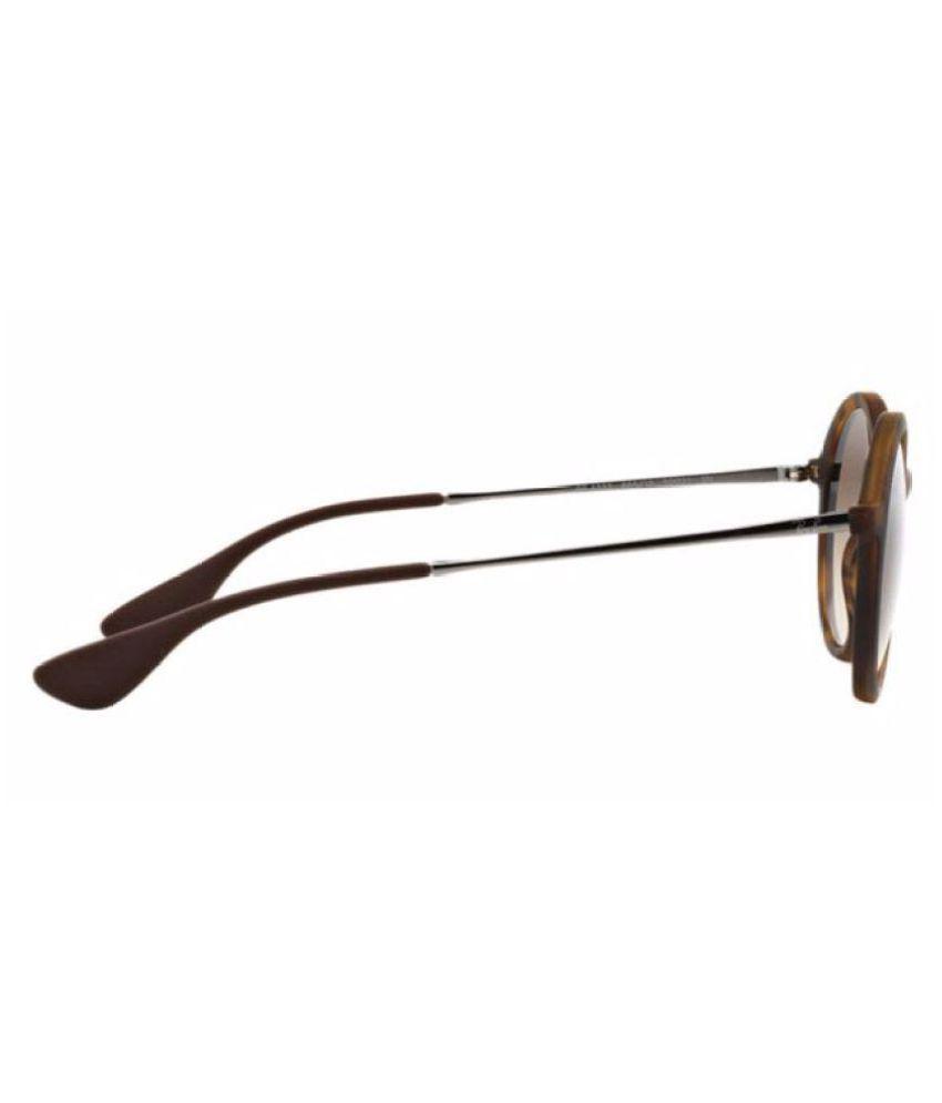 cc646ff663ff2 Ray-Ban Brown Round Sunglasses ( Rb-4222-865 13-50 ) - Buy Ray-Ban ...