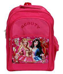 Rainbow Pink School Bag