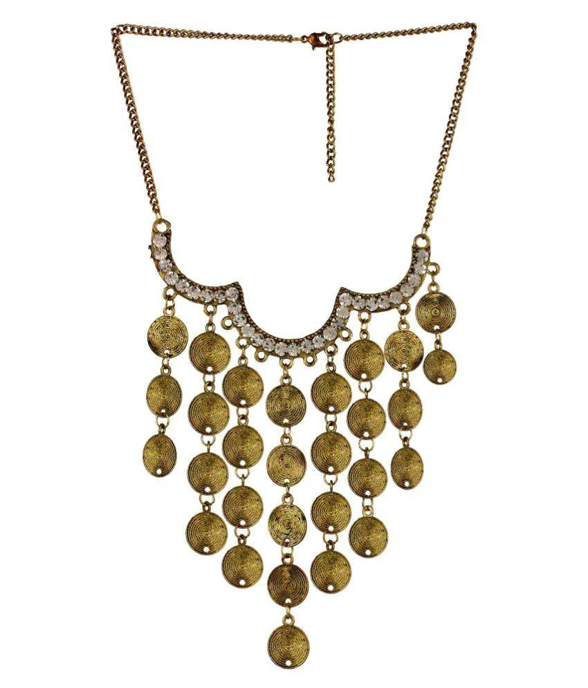 Fedexo Golden Necklace