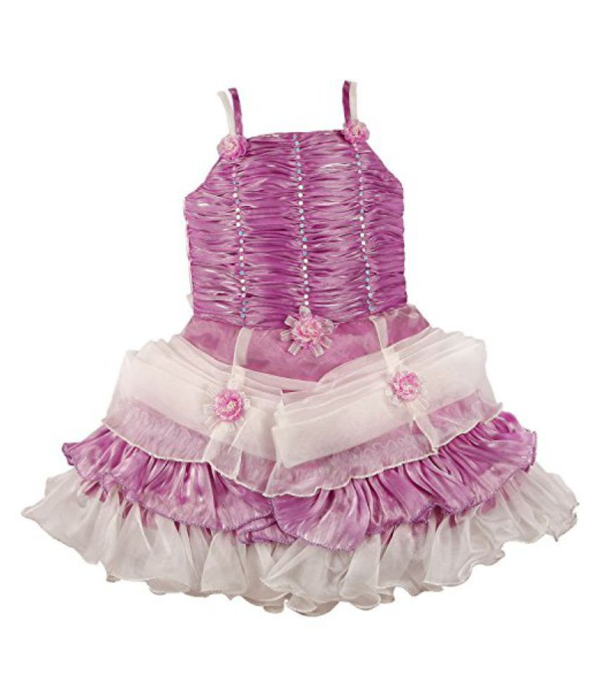 06270c5127a5 Wish Karo Baby Girls Party Wear Frock Dress DN 705 - Buy Wish Karo ...