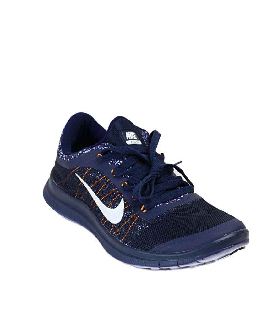 free shipping 789f0 5f55f Zoom Air Free 3.0 Navy Running Shoes