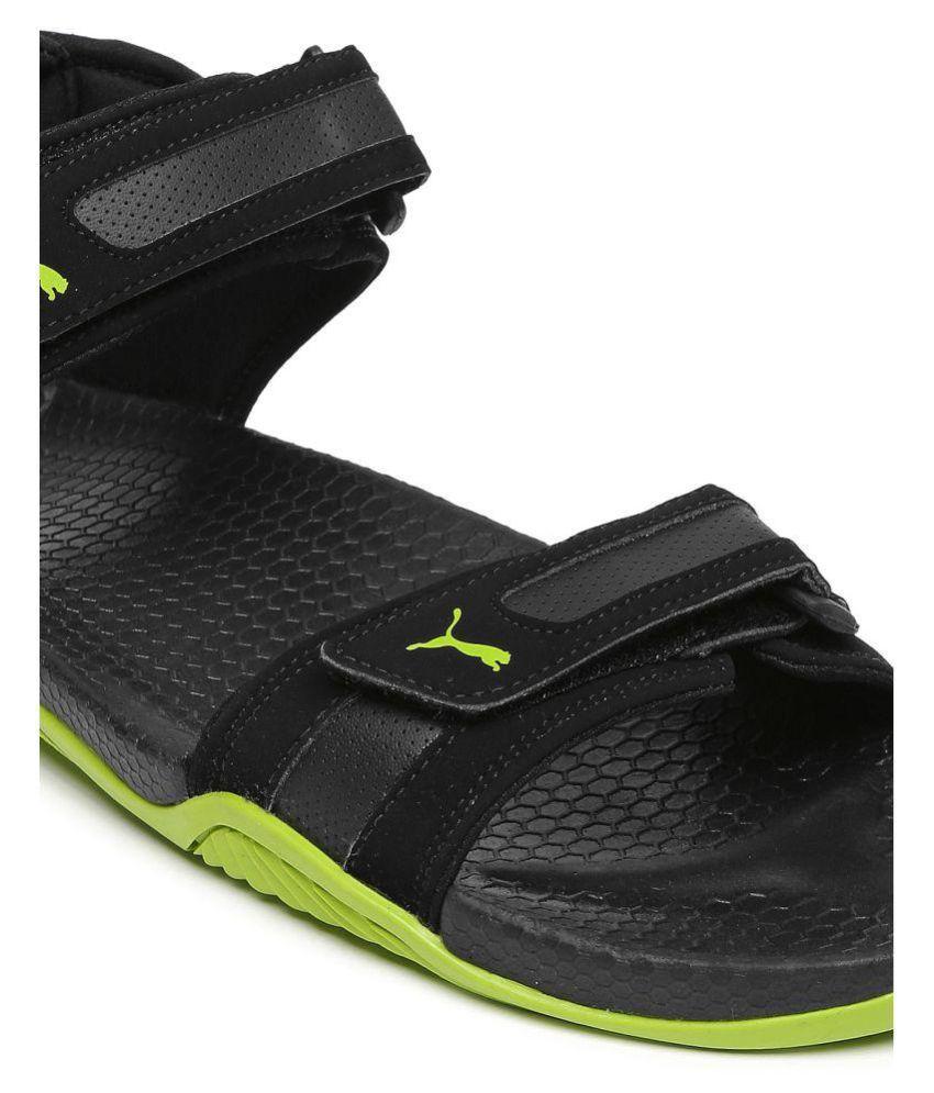 Puma Supremacy DP Black Floater Sandals - Buy Puma Supremacy DP ... 16eaa320a