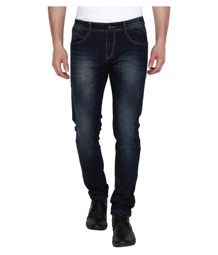 Yuvi Blue Regular Fit Jeans