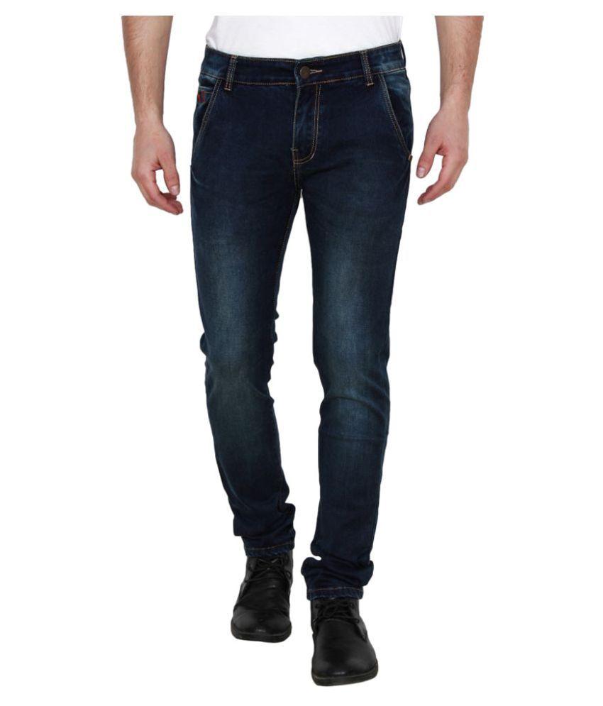 Yuvi Dark Blue Regular Fit Jeans