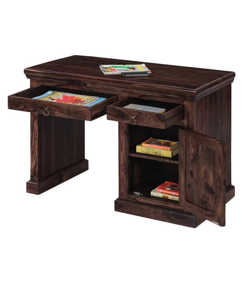 Inhouz Century Solid Wood Study Table ...