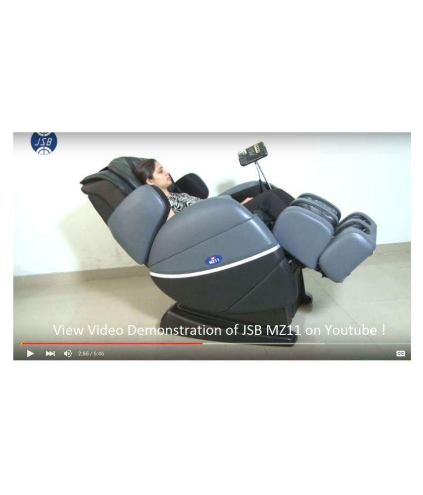 jsb mz11 zero gravity massage chair grayblack - Zero Gravity Massage Chair