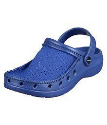 Spice Venchi Blue Clogs