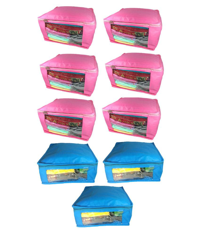 Abhinidi Multi Saree Covers - 9 Pcs