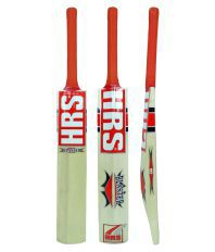 HRS Blaster Kashmir Willow Cricket  Bat (Short Handle, 1175-1250 g)