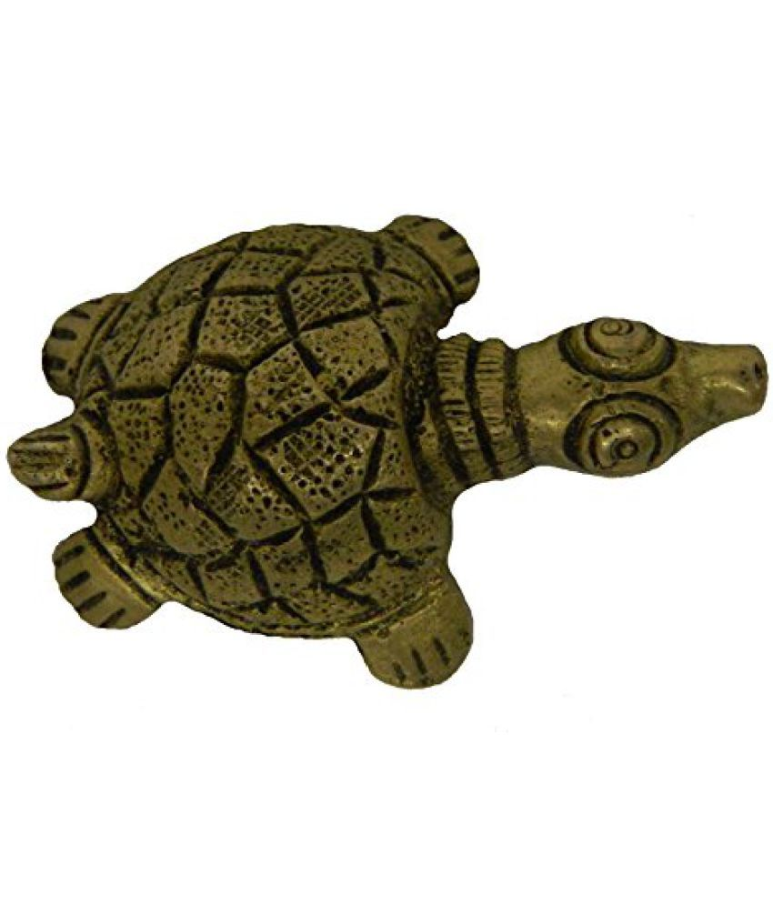 Brass Metal Tortoise Small in Size art by Bharat Haat  BH02690