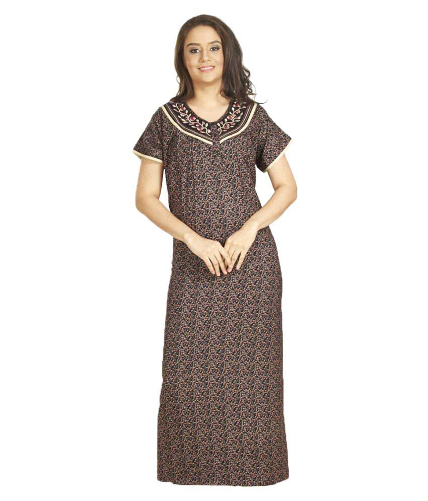 5adf369787 Ladies Night Gown Online Shopping India