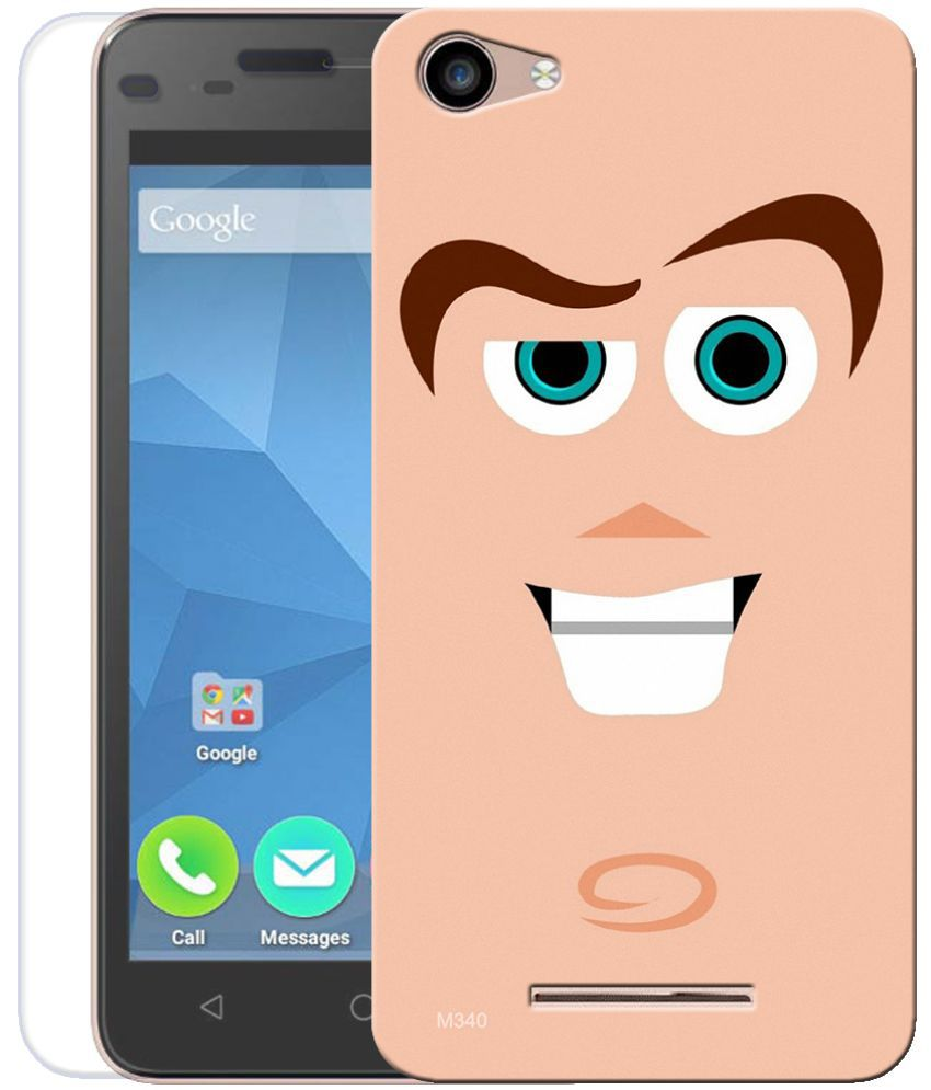 Micromax Canvas Spark 2 Plus Cover Combo by Indiashopers