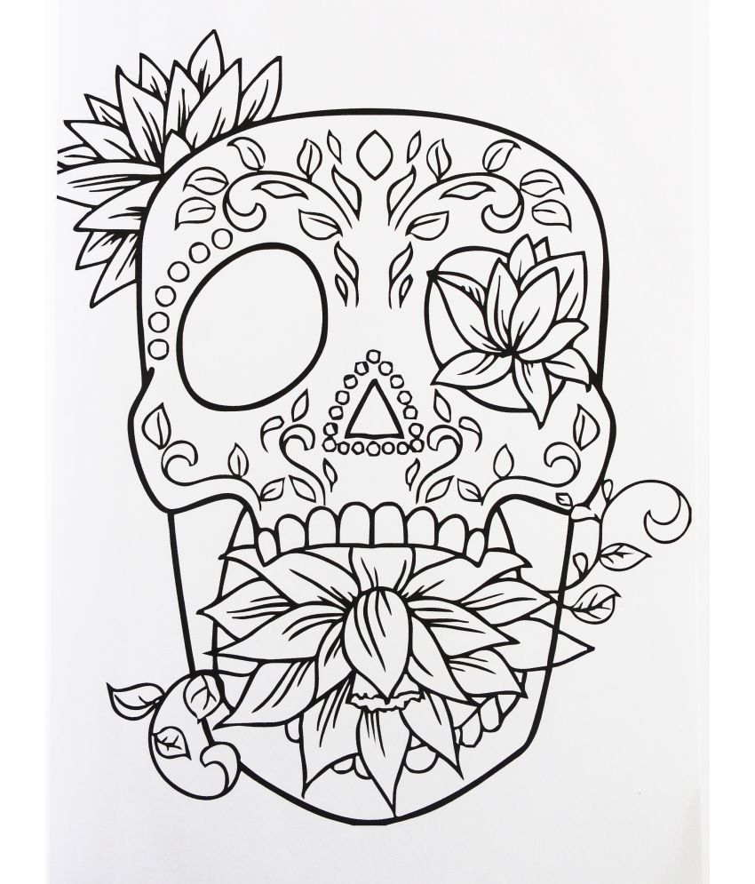 The Tattoo Colouring Book For Adults
