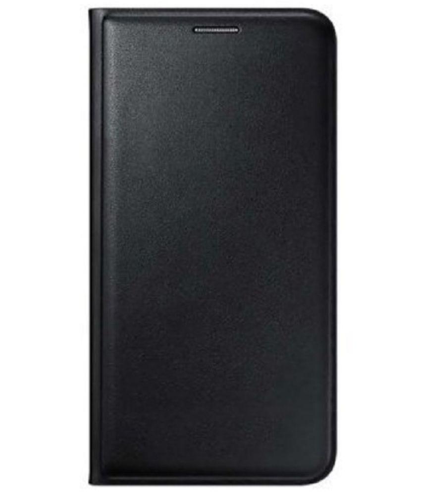 Asus Zenfone 2 Laser ZE500KL Flip Cover by MV - Black