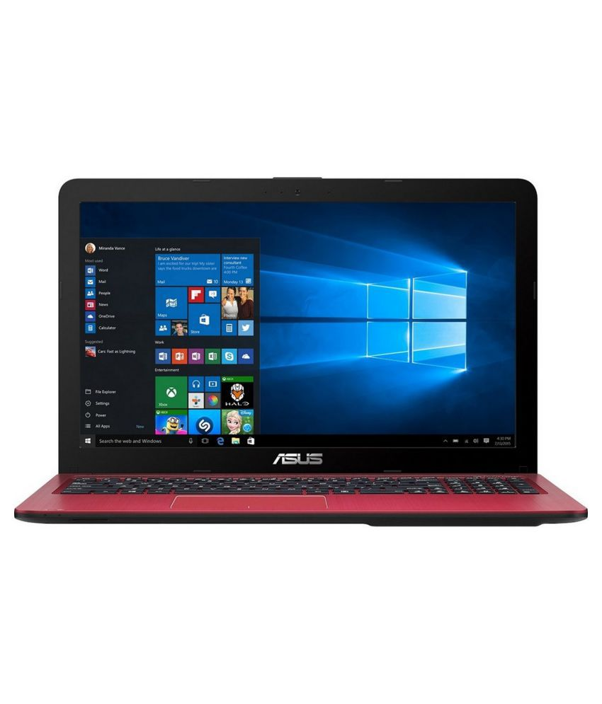 Asus A Series A540LJ-DM668D Notebook Core i3 (5th Generation) 4 GB 39.62cm(15.6) DOS 2 GB Red