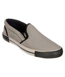 Duke Lifestyle Gray Casual Shoes