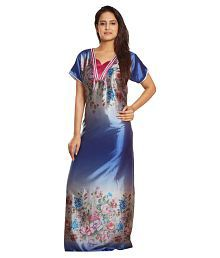 Lady Beauty Satin Nighty & Night Gowns