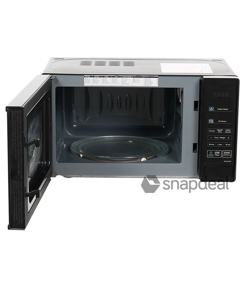 Lg 20 Ltr Ms204b Solo Microwave Oven