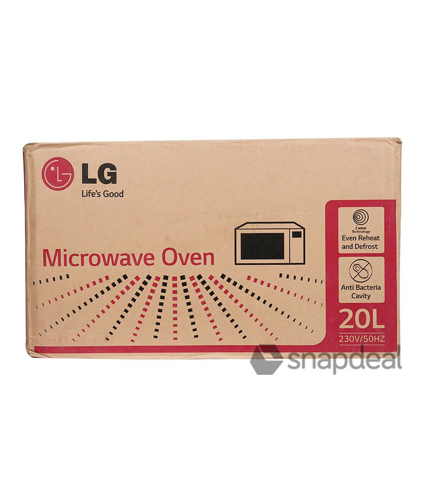 Lg 20 Ltr Ms2043db Solo Microwave Oven Price In India