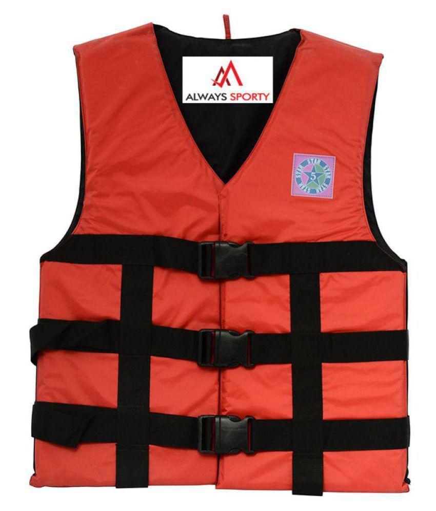 Always Sporty Red Life Jacket