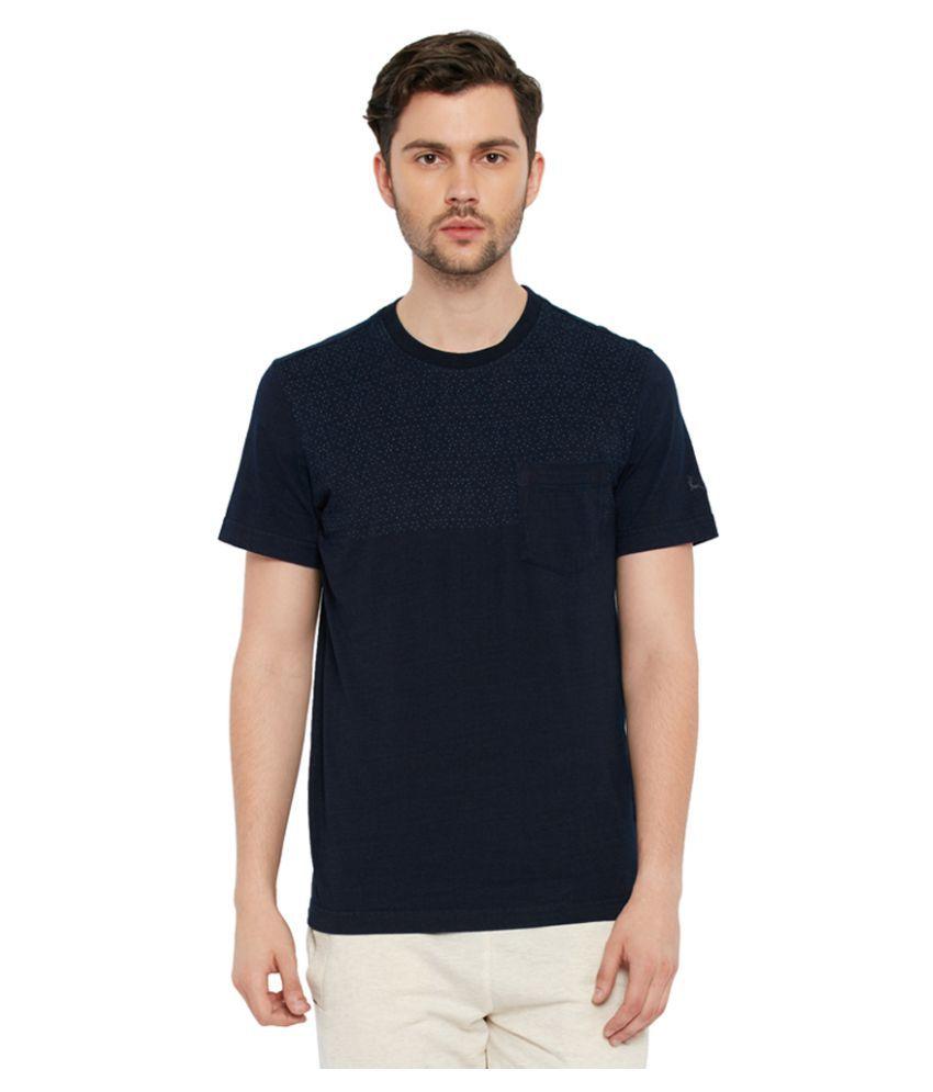 Parx Navy Round T-Shirt