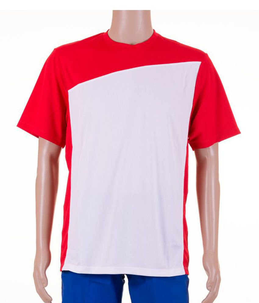 Wilson Team Color Block Crew Red