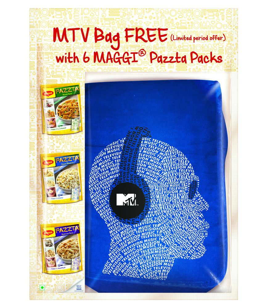 MAGGI Pazzta Special 6-Pack with MTV Bag Free - 398g By Snapdeal @ Rs.150