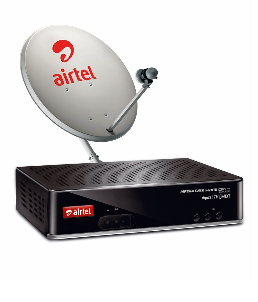 Airtel DTH HD Connection with 30 Days New Mega Subscription with 90 Days  Max HD Topup
