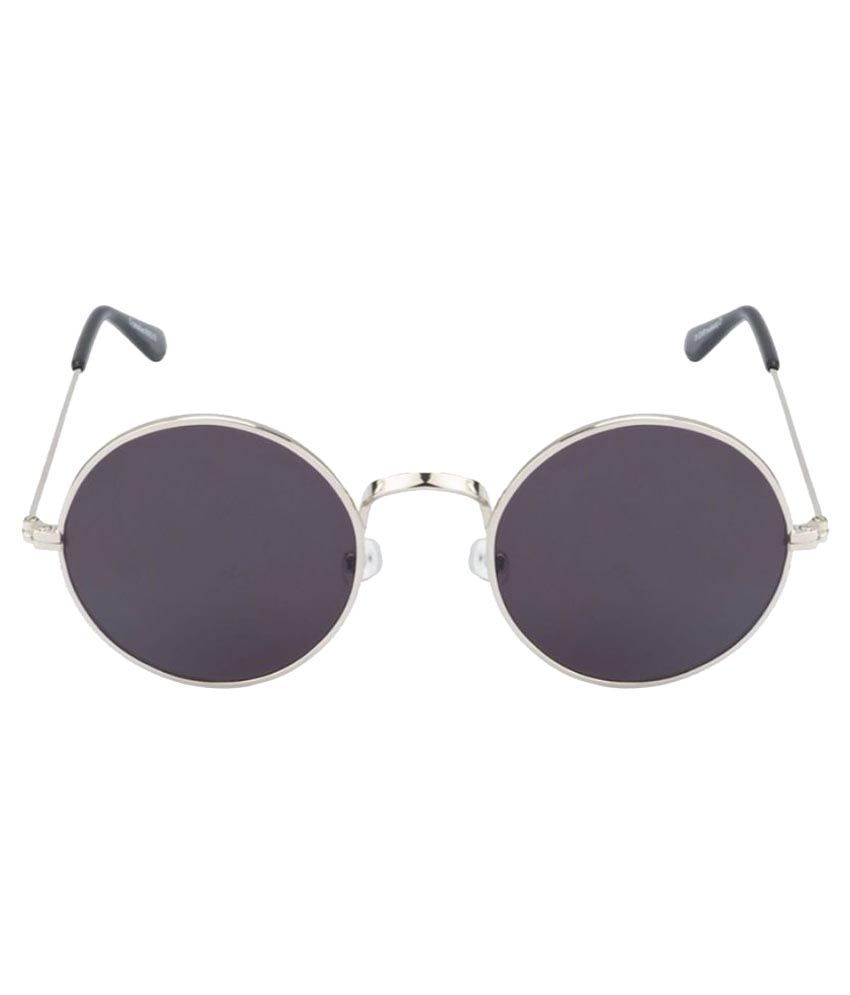 4465148e30 HH Black Round Sunglasses - Buy HH Black Round Sunglasses Online at Low  Price - Snapdeal