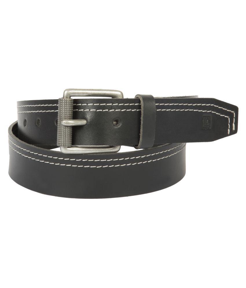 Leder Concepts Black Leather Formal Belts