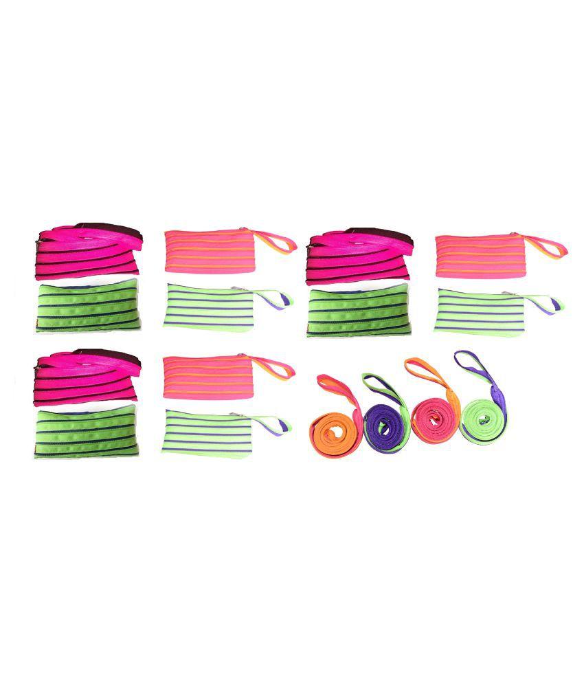 CSM Fabric Multi Color Pouch
