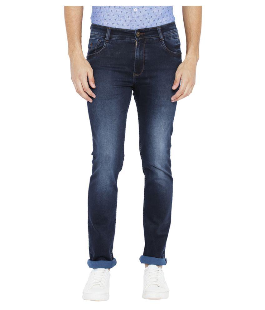 Parx Dark Blue Slim Jeans