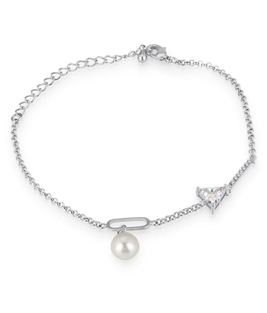 Spargz Silver Bracelet For Women
