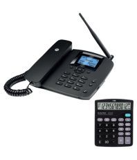 Motorola Motorola FW200L Wireless GSM Landline Phone ( Black )