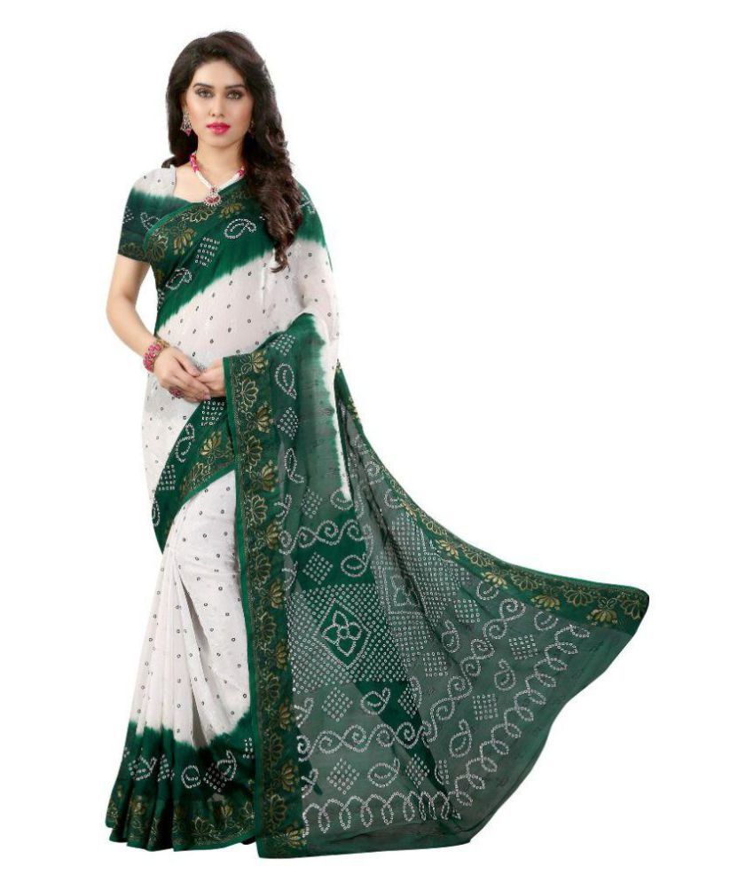 The Mammoth Store Multicoloured Cotton Silk Saree