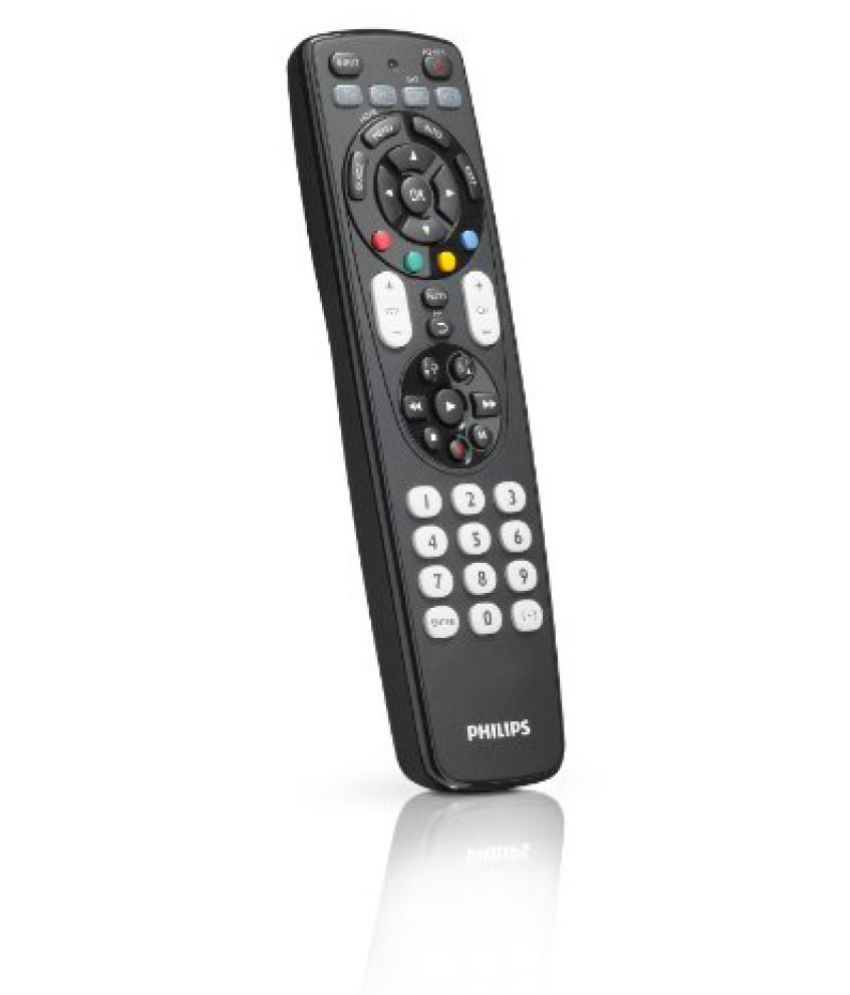 Philips SRP4004/27 Universal 4 In 1 Remote Control for TV VCR DVD SAT with XXL and Fluorescent Glow Buttons