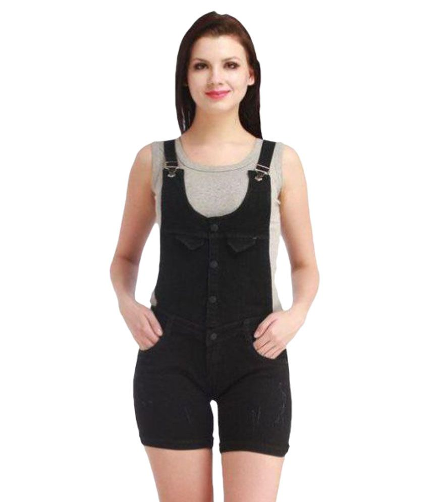 Western World Fashion Denim Dungarees