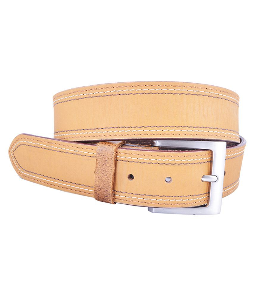 Dreamship Brown Leather Casual Belts