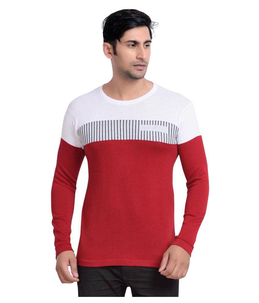 Urbanique Red Round T-Shirt