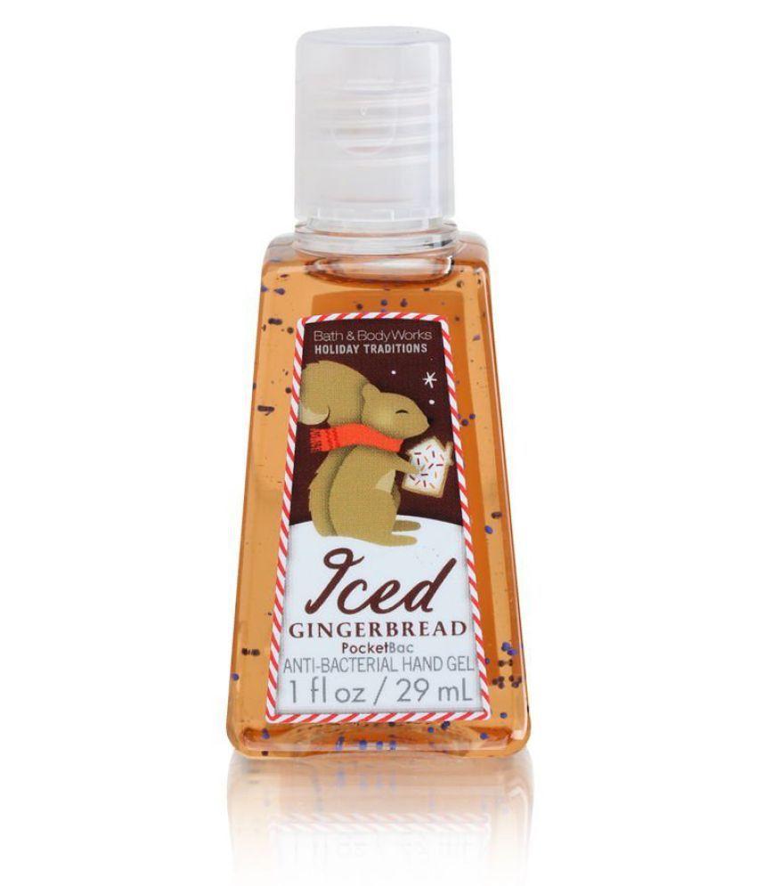 Bath & Body Works Iced Gingerbread Pocketbac Gel Handwash