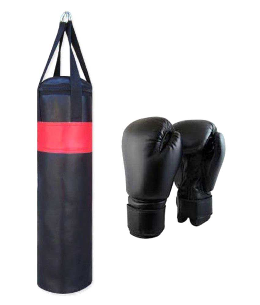 458196774 Monika Sports Black Synthetic Boxing Heavy Bags  Buy Online at Best Price  on Snapdeal