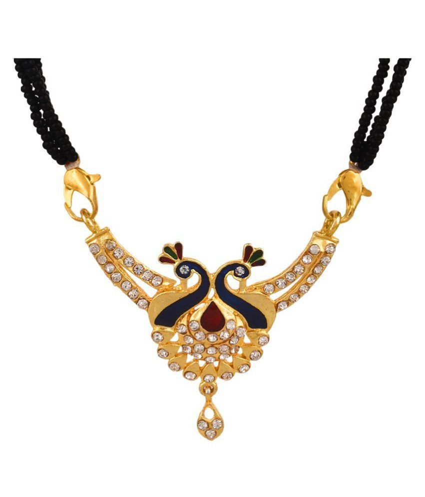 Goldnera Multicolour Alloy Mangalsutra