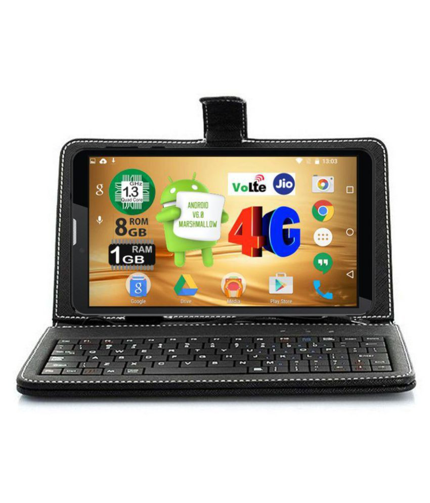 I Kall N4 8  GB with Keyboard VoLTE Black   4G + Wifi , Voice calling