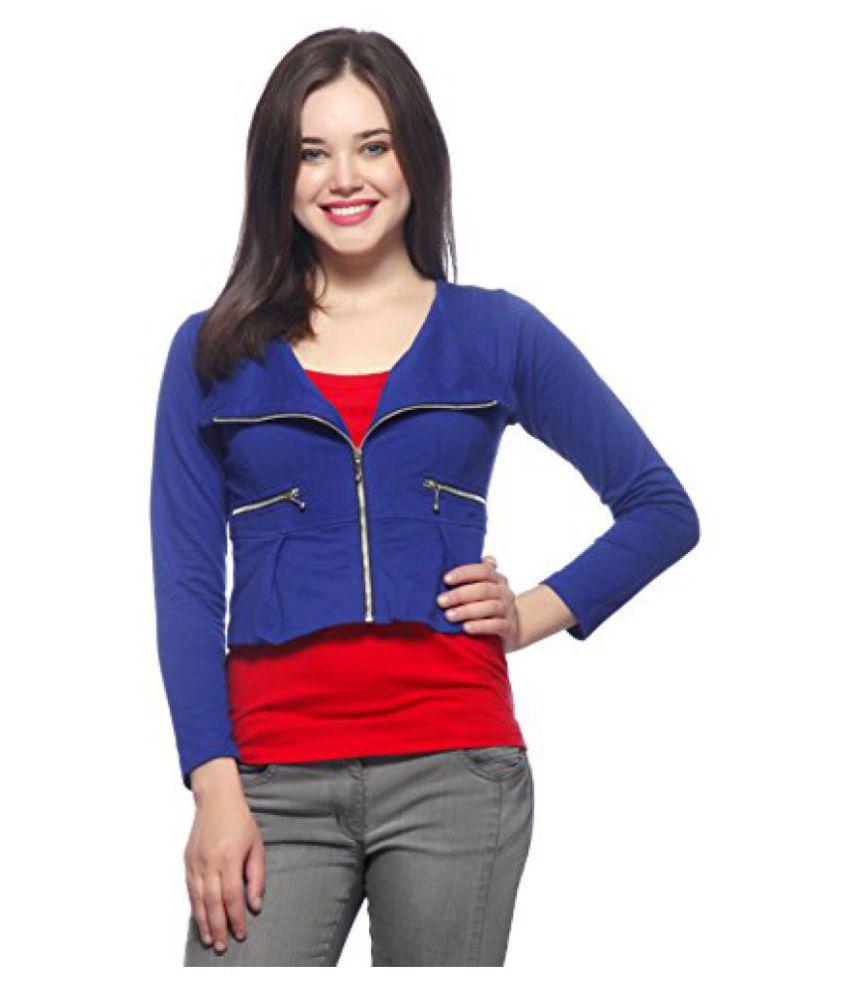Gritstones Royal Blue Short Jacket-GSJKT246RBLU