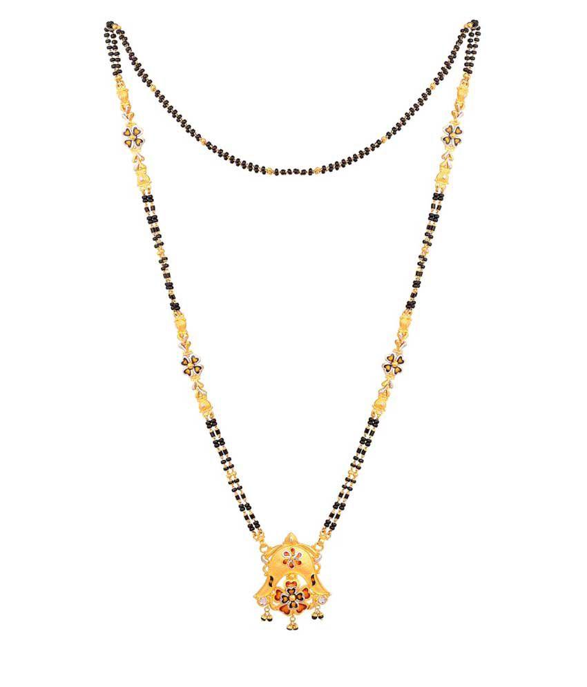 Malabar Gold And Diamonds 22k Gold Mangalsutra