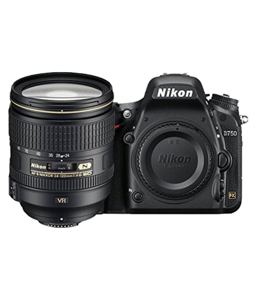 Nikon D750 24.3 MP DSLR with mm Lens + mm...