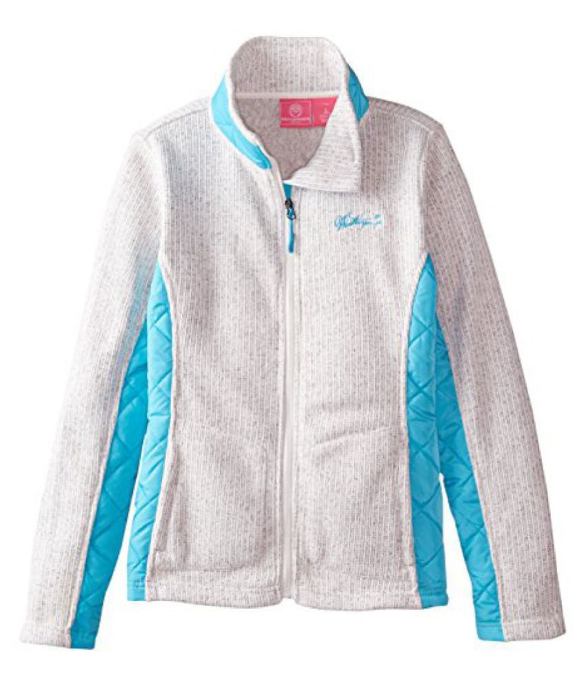 Weatherproof Big Girls' Jacquard Fleece Jacket